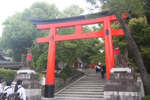 The Torii gates - Fushimi Inari Taisha