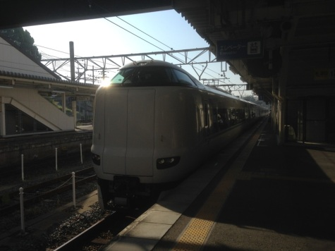 Up early for the Shinkazen back to Tokyo....