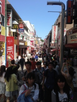 Shopping extravaganza on Takeshita Street in Harajuku.