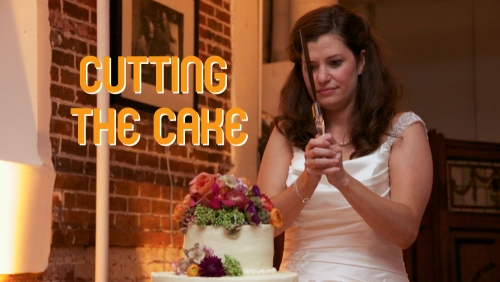 Cutting the Cake Title